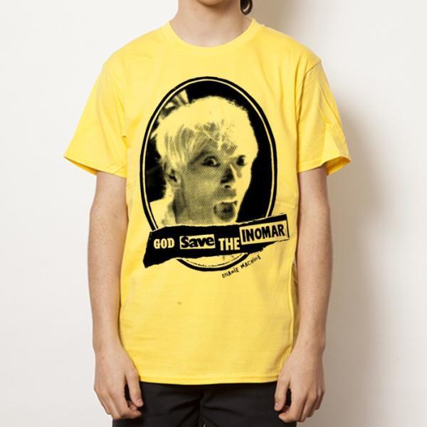 オナニーマシーン:イノマー救済 GOD SAVE THE INOMAR Tシャツ/メンズ&レディース/ファッション バンド Tシャツ/メール便対応可|aprilfoolstore|04
