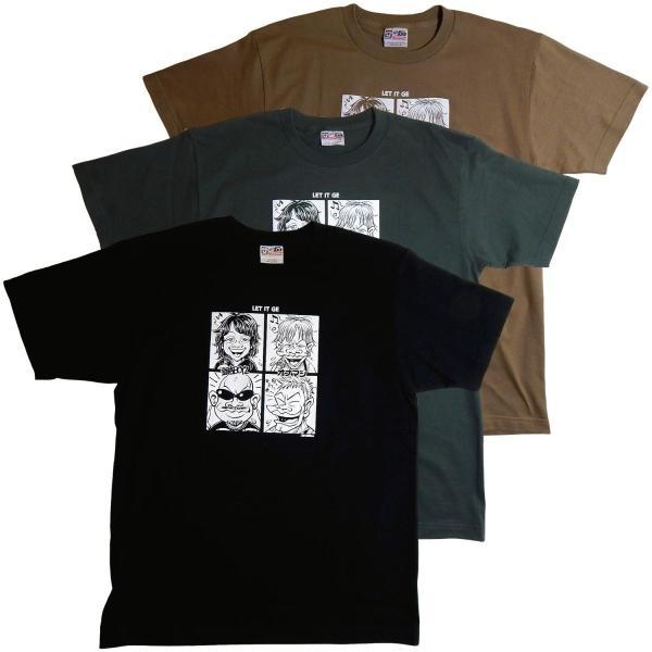 オナニーマシーン:オナマシ×銀杏BOYZ 「LET IT GE」Tシャツ/メンズ&レディース/ファッション バンド Tシャツ/メール便対応可|aprilfoolstore