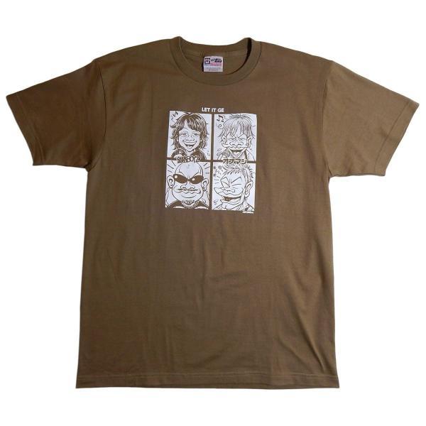 オナニーマシーン:オナマシ×銀杏BOYZ 「LET IT GE」Tシャツ/メンズ&レディース/ファッション バンド Tシャツ/メール便対応可|aprilfoolstore|05