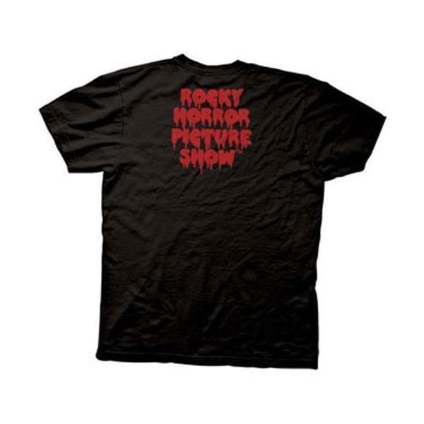 ロッキー・ホラー・ショー:ROCKY LIPS/ブラック/メンズM【ファッション Tシャツ】 aprilfoolstore 02
