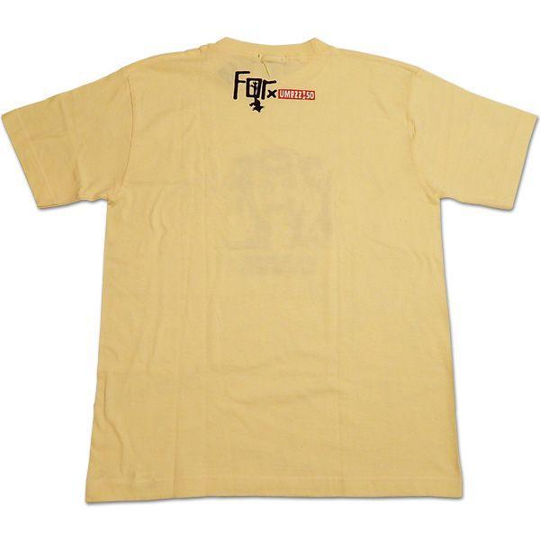 楳図かずお×For:神の左手悪魔の右手 IZUMI/イエロー/メンズS【ファッション Tシャツ】|aprilfoolstore|02