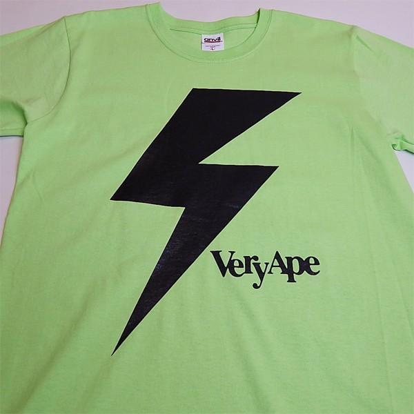 Very Ape(ヴェリーエイプ):「カミナリBOY」Tシャツ/キーライム/メンズ&レディース(キッズ)【ファッション バンド Tシャツ】|aprilfoolstore|02