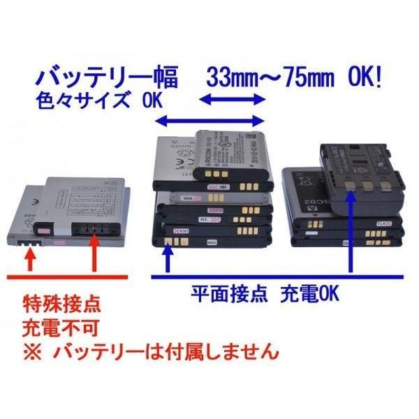 ANE-USB-01バッテリー充電器 リコー D-LI68:Optio S10、PENTAX Q-S1 Q7 Q10 Q、WG-M2