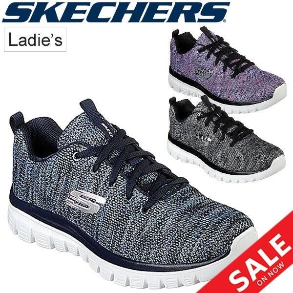 レディースシューズ スニーカー ガールズ スケッチャーズ SKECHERS GRACEFUL TWISTED FORTUNE 女性 女の子 スポーツ トレーニング カジュアル ひも靴 /12614