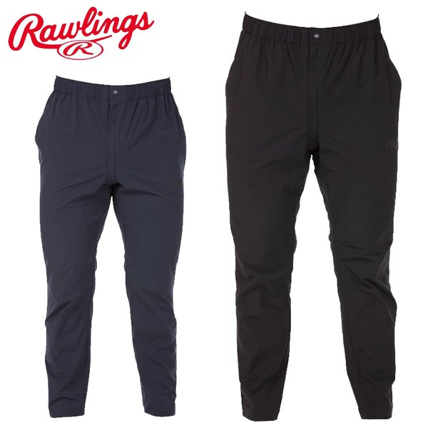 トレーニングパンツ 9分丈 メンズ ローリングス Rawlings ヴィクトリー ロングパンツ 03 BLACK LABEL/野球 スポーツ トレーニング ウェア ボトムス /AOP11S01