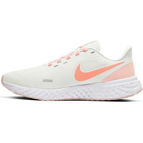 ランニングシューズ レディース スニーカー ナイキ NIKE レボリューション5/ジョギング トレーニング 白 ホワイト 女性 運動靴 REVOLUTION 5 /BQ3207-109