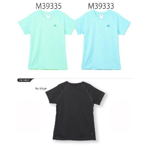 レディース 半袖Tシャツ ランニングウェア  アディダス/adidas  マラソン メール便OK /DDE09|apworld|03