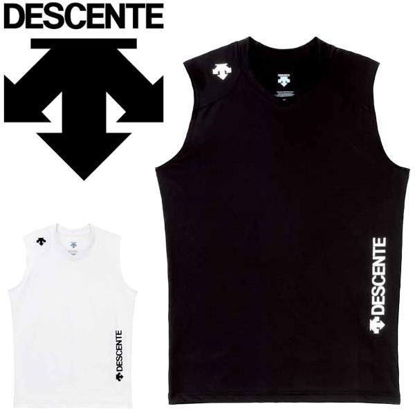 ノースリーブシャツ メンズ レディース デサント DESCENTE バレーボール インナーシャツ 袖なし スリーブレス スポーツインナー/DVB-4200【取寄】 apworld