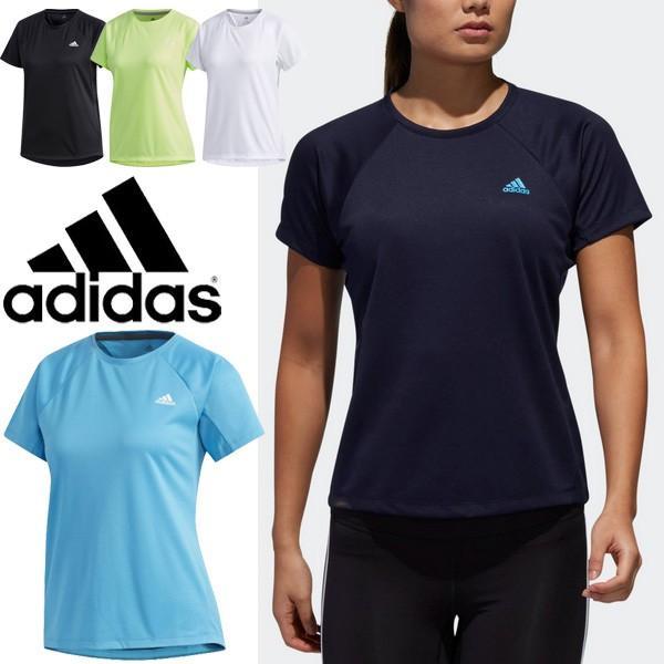 c48d8c92bde80d Tシャツ 半袖 レディース アディダス adidas W 定番ロゴ ワンポイント TEE スポーツウェア トレーニング フィットネス ...