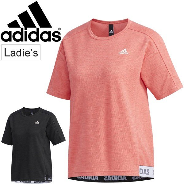 16bfab13c97db7 Tシャツ 半袖 レディース 女性用 アディダス adidas レディース ID ライト Tシャツ/スポーツウェア ...