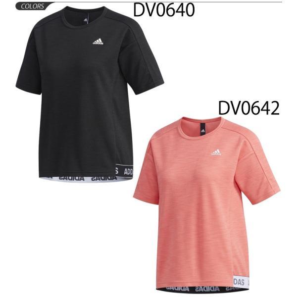 6f24056be0d88d ... Tシャツ 半袖 レディース 女性用 アディダス adidas レディース ID ライト Tシャツ/スポーツウェア ...