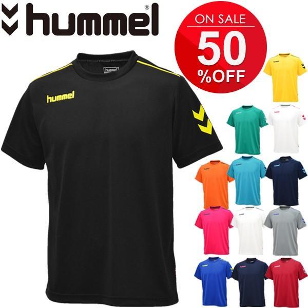 Tシャツ 半袖 メンズ ヒュンメル hummel トレーニングシャツ 男性 サッカー フットボール ハンドボール/HAY2078tops|apworld