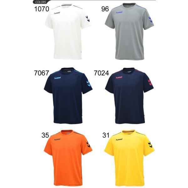Tシャツ 半袖 メンズ ヒュンメル hummel トレーニングシャツ 男性 サッカー フットボール ハンドボール/HAY2078tops|apworld|02