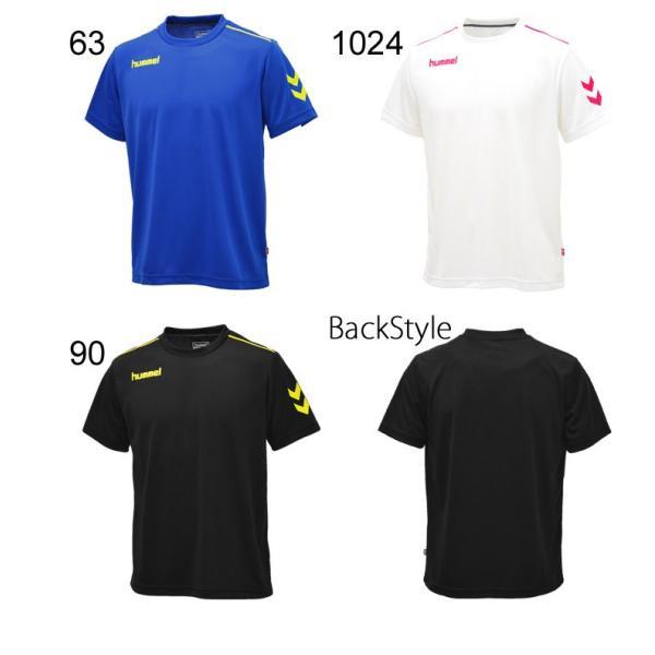 Tシャツ 半袖 メンズ ヒュンメル hummel トレーニングシャツ 男性 サッカー フットボール ハンドボール/HAY2078tops|apworld|04