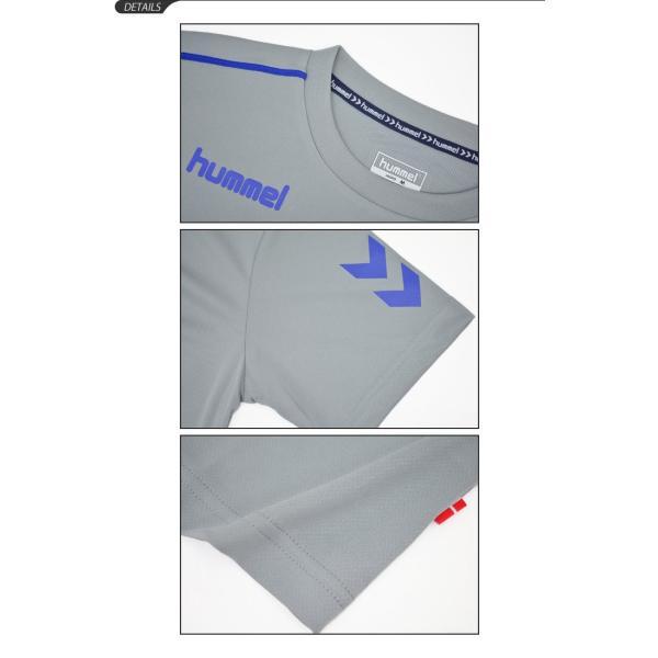 Tシャツ 半袖 メンズ ヒュンメル hummel トレーニングシャツ 男性 サッカー フットボール ハンドボール/HAY2078tops|apworld|05
