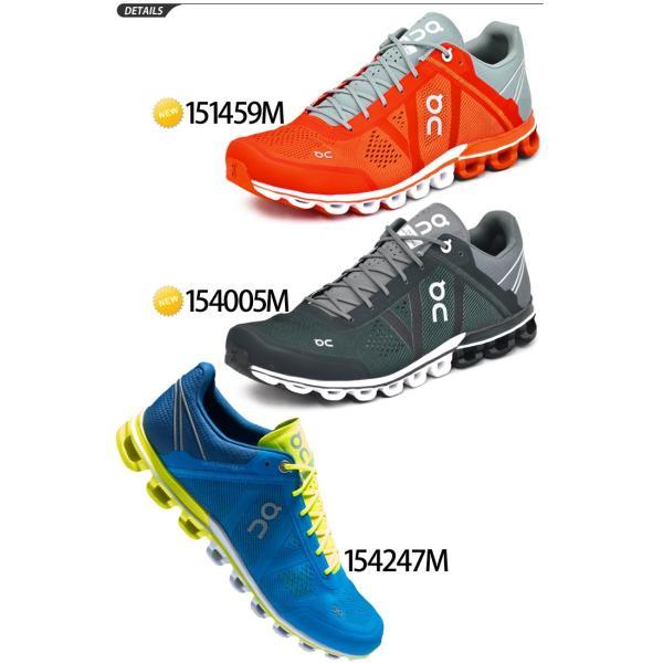 ランニングシューズ メンズ オン on クラウドフロー CloudFlow ランニング マラソン レース 靴 男性用 メッシュ 軽量/154247M apworld 02
