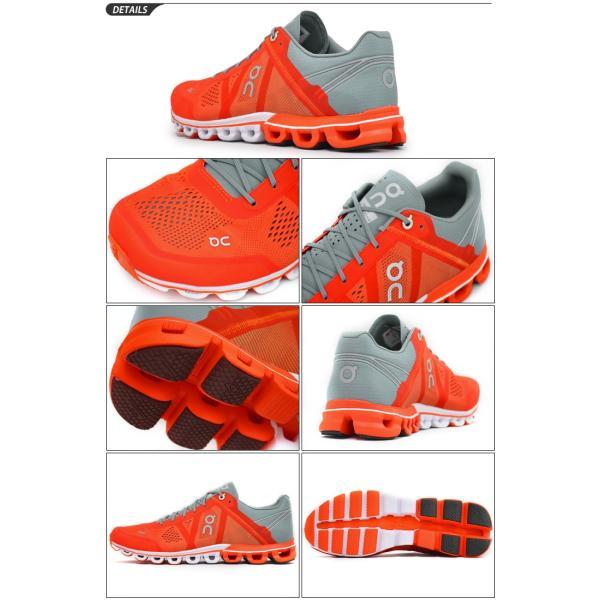 ランニングシューズ メンズ オン on クラウドフロー CloudFlow ランニング マラソン レース 靴 男性用 メッシュ 軽量/154247M apworld 03