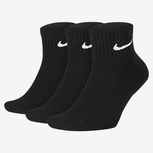 ソックス3足セット靴下メンズレディースキッズナイキNIKE3Pエブリデイクッションアンクルソックス3足組スポーツクォーターSX7