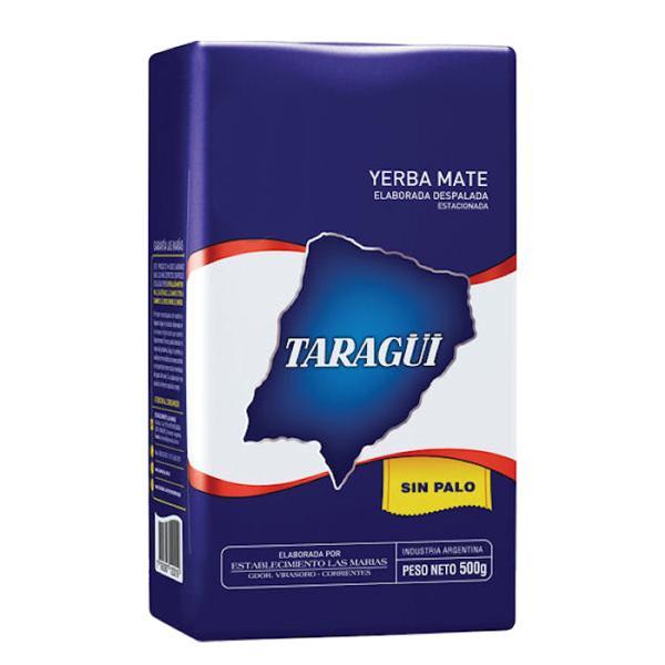 タラグイ ブルーパック マテ茶 ミネラルポリフェノールがいっぱい 飲むサラダ サッカー選手も愛飲 (茎無茶葉 500g) TARAGUI MATE SinPalo