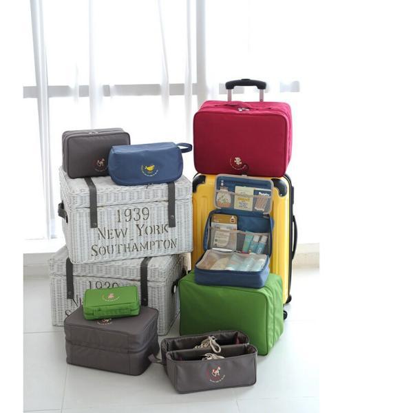 バッグインバッグ bag in bag バックインバック 送料無料 旅行にコンパクトに 整理整頓BG002|aqin|05