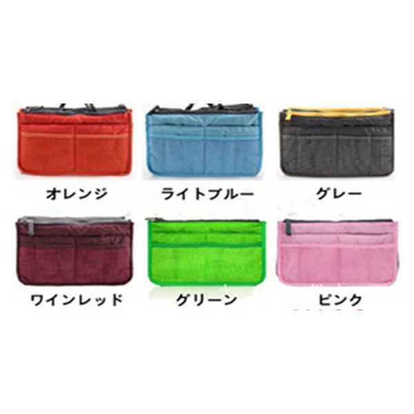 人気 レディースバッグインバッグ 化粧ポーチ 整理 収納  トートバッグ  使いやすい|aqin|05
