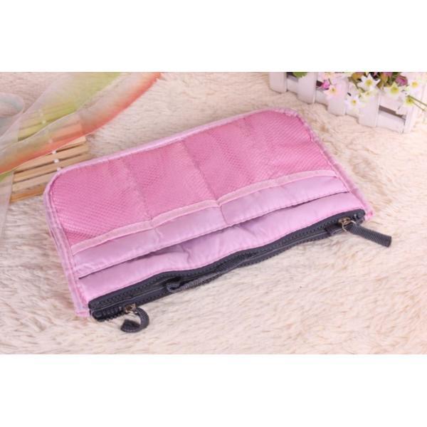 人気 レディースバッグインバッグ 化粧ポーチ 整理 収納  トートバッグ  使いやすい|aqin|09