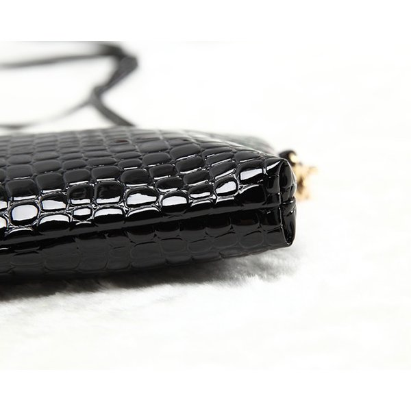 お財布ポシェット ショルダーバッグ 斜めがけ ミニショルダーバッグ スマホケース パスポートケース ミニバッグ フェイクレザー レディース aqin 12