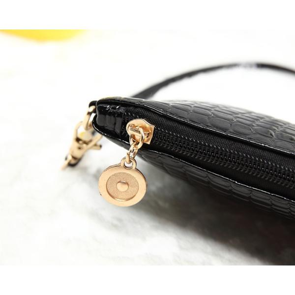 お財布ポシェット ショルダーバッグ 斜めがけ ミニショルダーバッグ スマホケース パスポートケース ミニバッグ フェイクレザー レディース|aqin|13