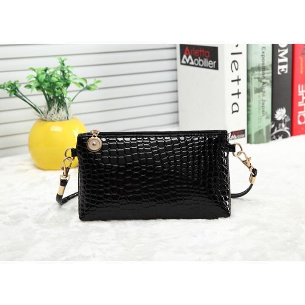 お財布ポシェット ショルダーバッグ 斜めがけ ミニショルダーバッグ スマホケース パスポートケース ミニバッグ フェイクレザー レディース|aqin|10