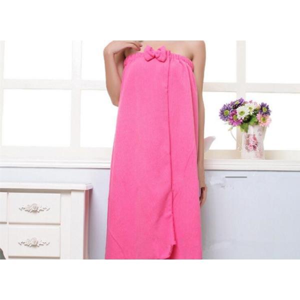 リボン付きバスタオル 着るタオル 新作 ゆったりサイズ マイクロファイバー ルームウェア パレオ ワンピース 風|aqin|04
