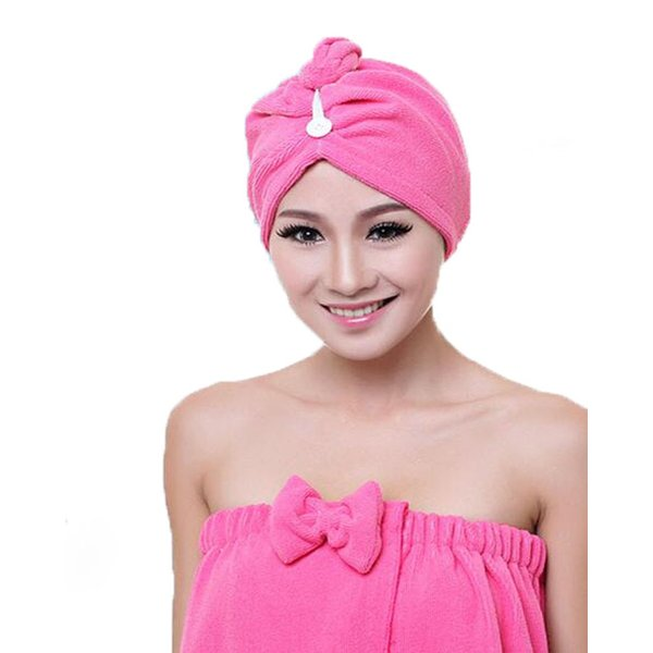 吸水キャップ タオル マイクロ ファイバー ヘア ドライ キャップ ヘア 乾燥 帽子 キャップ|aqin