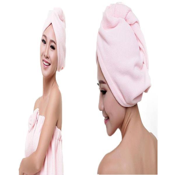 吸水キャップ タオル マイクロ ファイバー ヘア ドライ キャップ ヘア 乾燥 帽子 キャップ|aqin|04