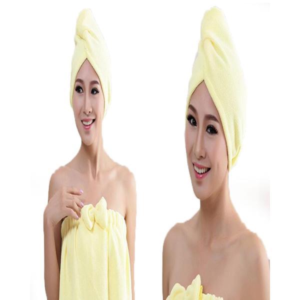 吸水キャップ タオル マイクロ ファイバー ヘア ドライ キャップ ヘア 乾燥 帽子 キャップ|aqin|05