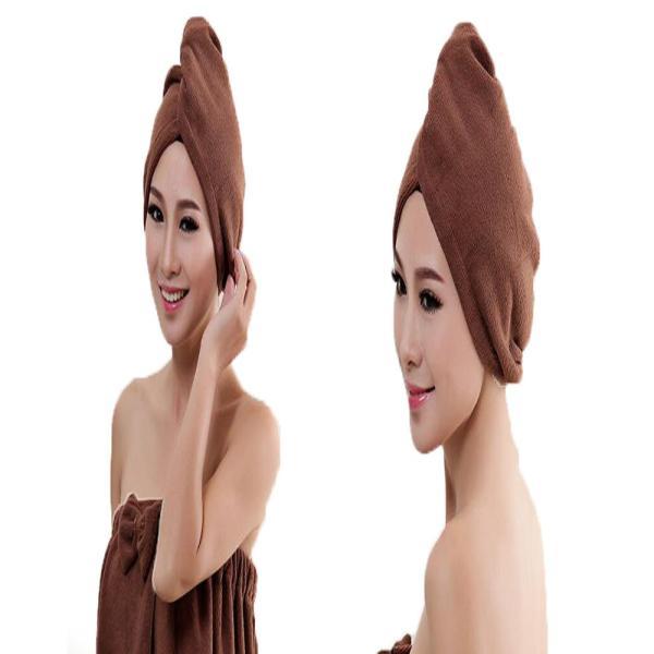 吸水キャップ タオル マイクロ ファイバー ヘア ドライ キャップ ヘア 乾燥 帽子 キャップ|aqin|08