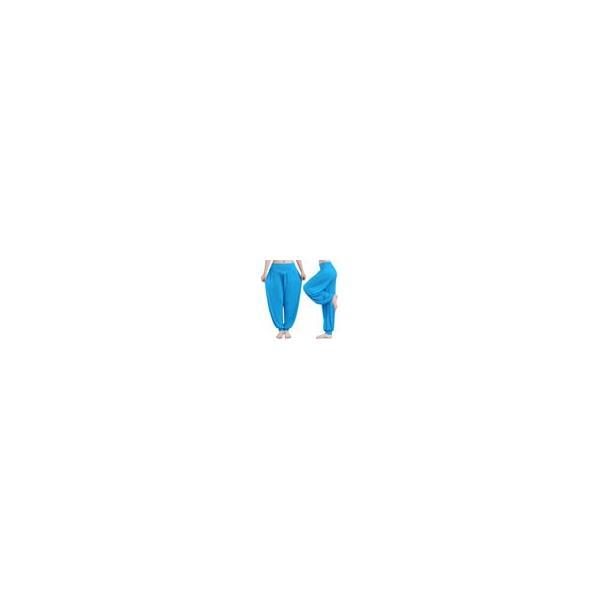 ヨガウエア パンツ ダンスウエア ロングサルエル風パンツ リラックス ゆったり レディース|aqin|03
