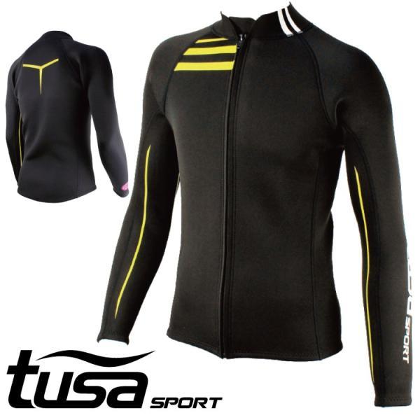 ウエットスーツ ジャケット tusa SPORT/ツサスポーツ ウェットスーツ ジャケット メンズ UA5121[60203007]