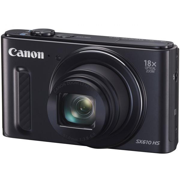 新品 Canon PowerShot SX610 HS [ブラック]
