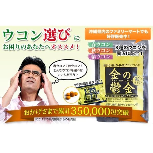 送料無料 ウコン 二日酔い 金のウコン粒 30包 健康 セール沖縄ウコン堂 ポイント消化 クルクミン|aqua-green