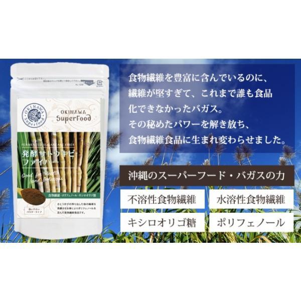 料理 ご飯 混ぜるだけ 発酵サトウキビファイバー 送料無料 食物繊維 沖縄ウコン堂 セール ポイント消化 |aqua-green|02