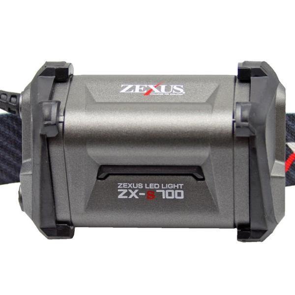 LEDヘッドライト ZX-S700 最大800ルーメン ブースト搭載 ZEXUS 冨士灯器 釣り
