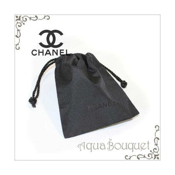 8d37d8940109 シャネル ミニ巾着 #ロゴブラック CHANEL MINI POUCH [ノベルティ]