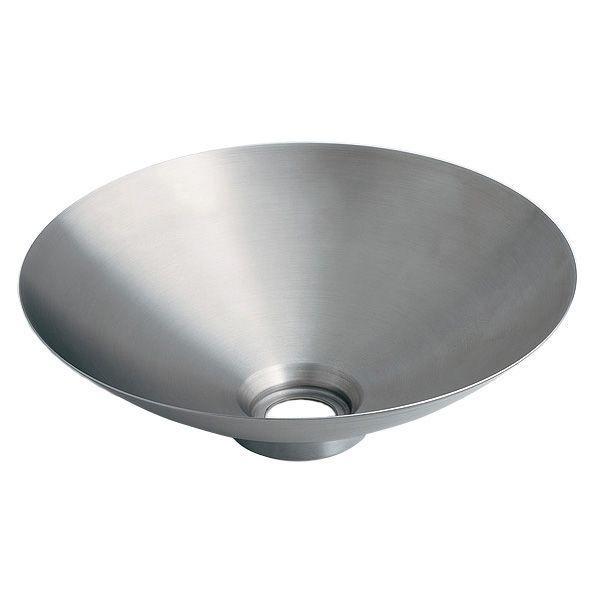 カクダイ 493-038 丸型手洗器 鉄穴(かんな)シリーズ