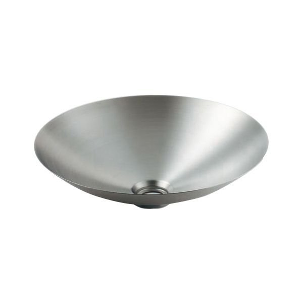 カクダイ 493-044 丸型洗面器 鉄穴(かんな)シリーズ