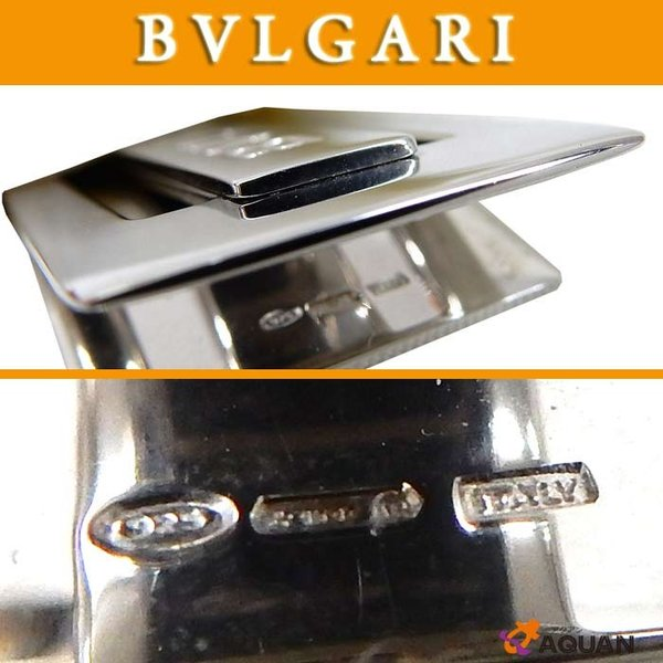 93cf5d081a82 BVLGARI ブルガリ マネークリップ シルバー SV925 男女兼用 BVLGARI ブルガリ マネークリップ シルバー SV925 男女 ...