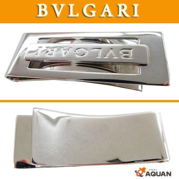 f5e910b8f6ba BVLGARI ブルガリ マネークリップ シルバー SV925 男女兼用 /【Buyee ...