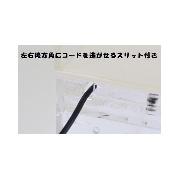 E221 サンコー レプタイルボックス ワイド / 爬虫類 ヒョウモントカゲモドキ レオパ 飼育ケース|aquapet|08