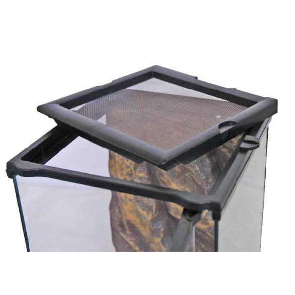 GEX グラステラリウム ナノ(サイズ:21.5x21.5x高さ33cm) ☆ aquapet 03