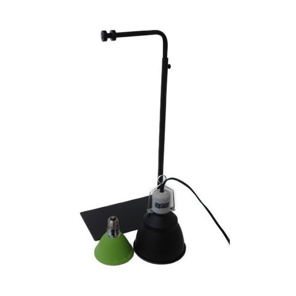 カーボンペットヒータースタンドセット 小鳥ケージ/保温器具/照射/速暖/ハ虫類ケージ aquapet