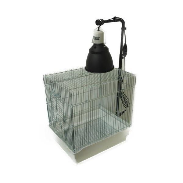 カーボンペットヒータースタンドセット 小鳥ケージ/保温器具/照射/速暖/ハ虫類ケージ aquapet 02