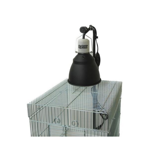 カーボンペットヒータースタンドセット 小鳥ケージ/保温器具/照射/速暖/ハ虫類ケージ aquapet 05